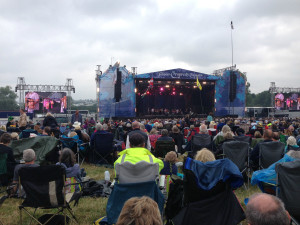 Audience at Cropredy Folk Rock Festival 600