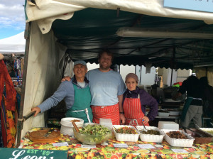 Fairport Convention's Cropredy Festival 2015 Leon's veggie Food
