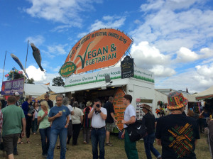 Fairport Convention Cropredy Vegan Food