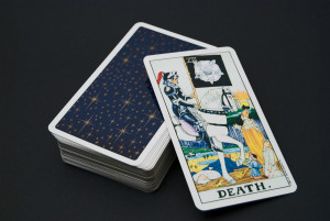 Rubbing Shoulders with death, Tarot cards with The Reluctant Raw Foodist