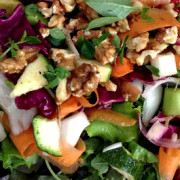 Super Healthy Supper Salad with The Reluctant Raw Foodist