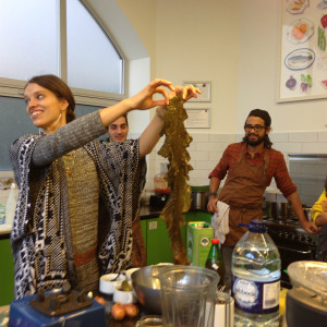 Aiste of the Wild Food Cafe with The Reluctant Raw Foodist