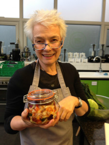 The reluctant Raw foodist on the Wild Food Cafe course