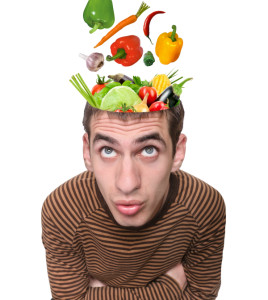 Veggie head  - Food for thought
